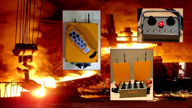 Kablosuz Vinç ve Makina Kumanda Sistemleri (Remote Crane and Machine Control Systems)